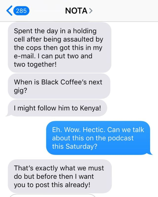 Nota Baloyi: Black Coffee Wants Me Dead