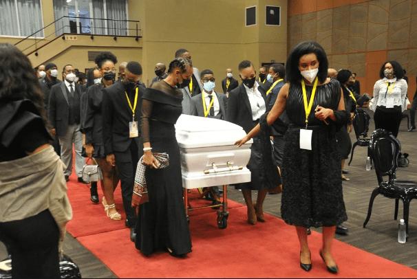 Inside Anele 'Nelli' Tembe's memorial – Photos