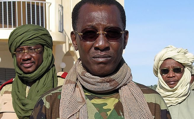 BREAKING: African president of Chad shot dead hours after winning presidential elections