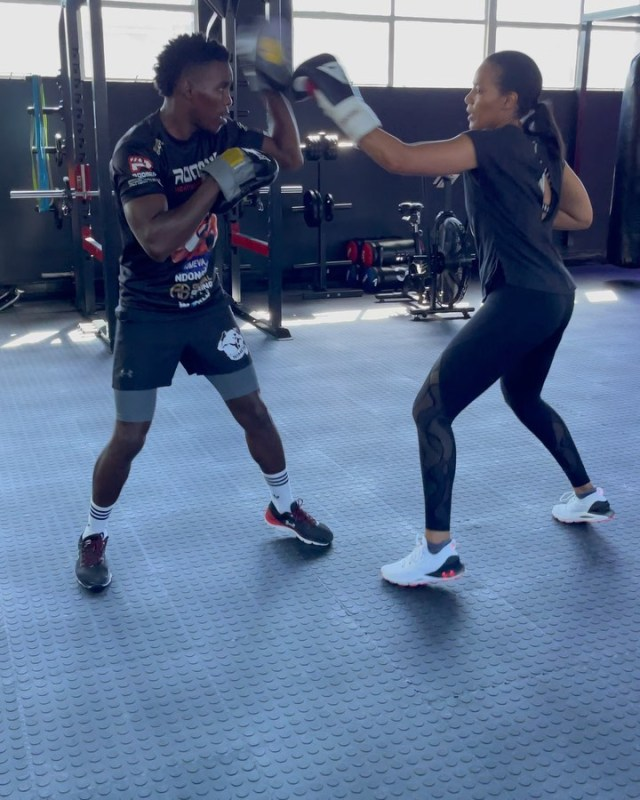 Connie Ferguson set to become a professional boxer after retiring from acting