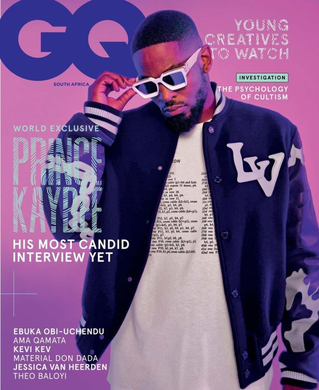 Prince Kaybee shines on the cover of GQ magazine