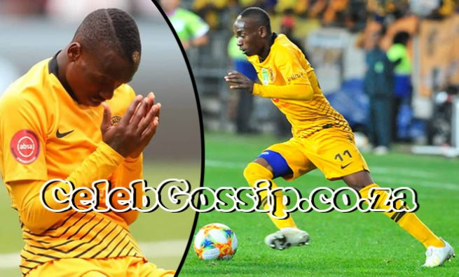 Khama Billiat severely injured, he can't walk anymore; Coach speaks as career goes down the drain