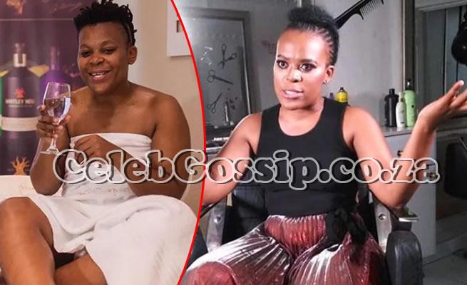 Fans praise retired prostitute Zodwa WaBantu for taking ARVs publicly (WATCH VIDEO)