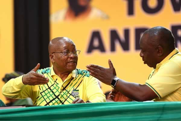 Cosatu bays for Jacob Zuma's blood as he exposes President Ramaphosa for selling him out