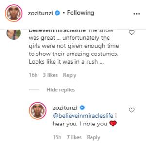 Miss Universe Zozibini Tunzi under fire