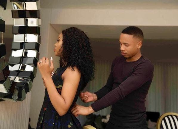 Andile Jali finds love, a well-known SA celeb after being dumped by his wife Nonhle
