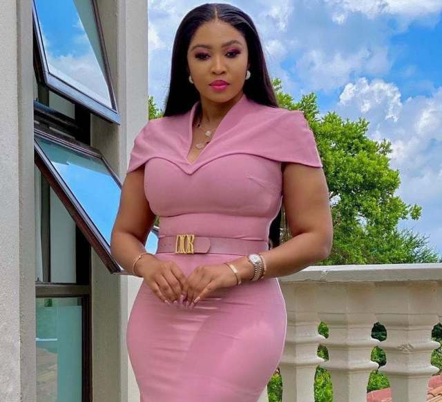 Ayanda Ncwane breaks down after being asked to pay damages for Sfiso and Nonku William's daughter