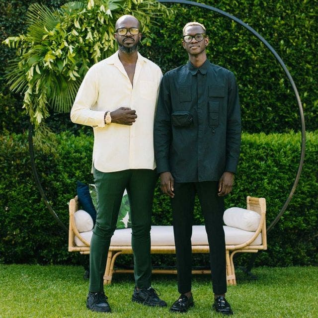 Black Coffee's son has Mzansi talking after posting his father's alleged girlfriend