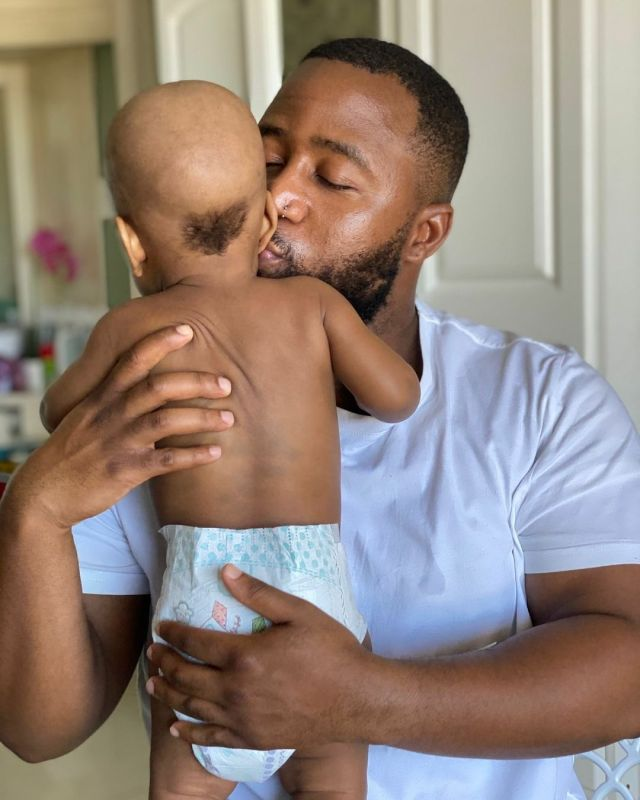 Photos: Cassper Nyovest leaves son with a Ponytail after first haircut – Mzansi reacts