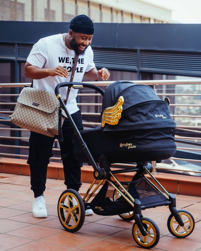 Cassper Nyovest and son serves father-son goals – Photos