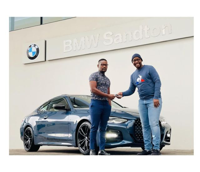 Skeem Saam Actor Clement Maosa Buys A Monster Of A Car