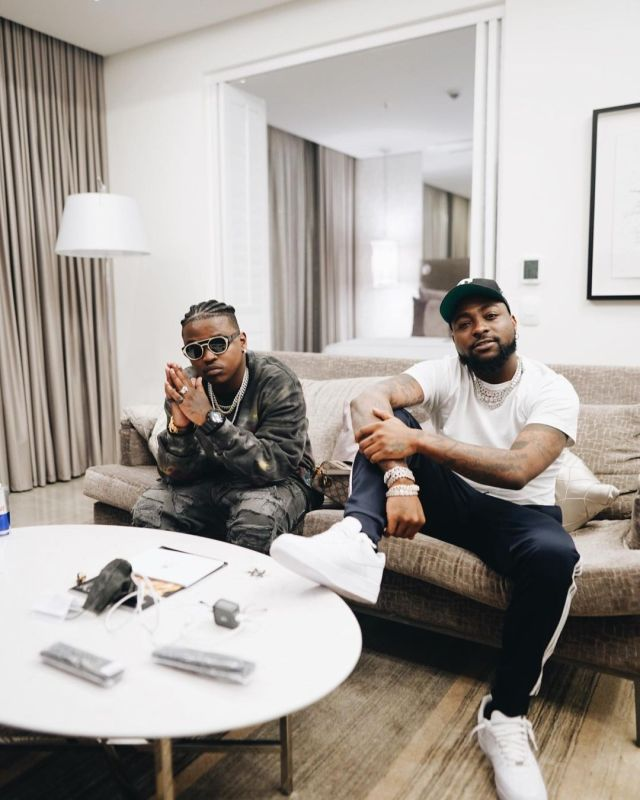 PHOTOS: Nigerian superstar Davido jets in for Focalistic's 25th birthday
