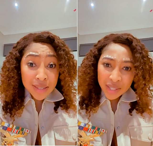 The Law Shuts Enhle Mbali's mouth