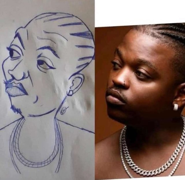 Drawing of Focalistic leaves Mzansi in stitches