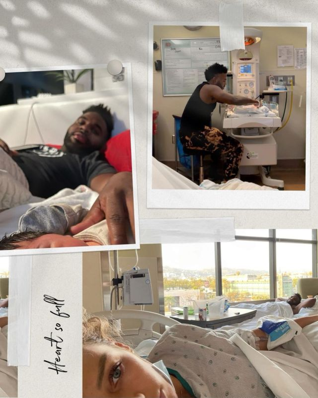Singer Jason Derulo and model Jena Frumes welcome their baby boy – PICs