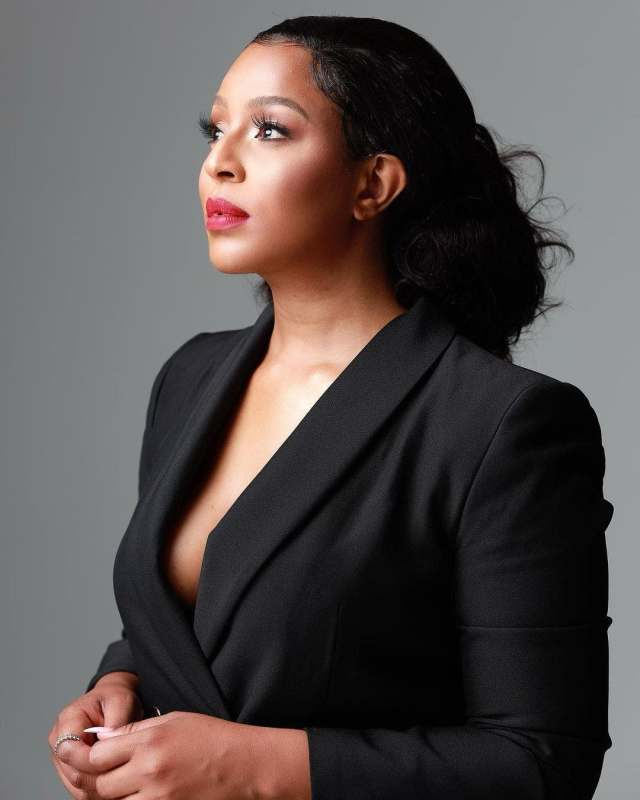 The Queen actress Jessica Nkosi speaks on Connie and Shona Ferguson (The Fergusons)