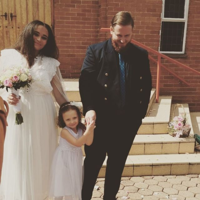 Kuli Roberts' daughter ties the knot