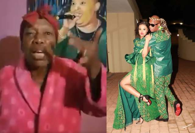 Mampintsha finally addresses Babes Wodumo and his mothers' beef
