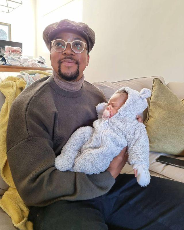 Watch: Media personality Maps Maponyane serve fatherhood goals