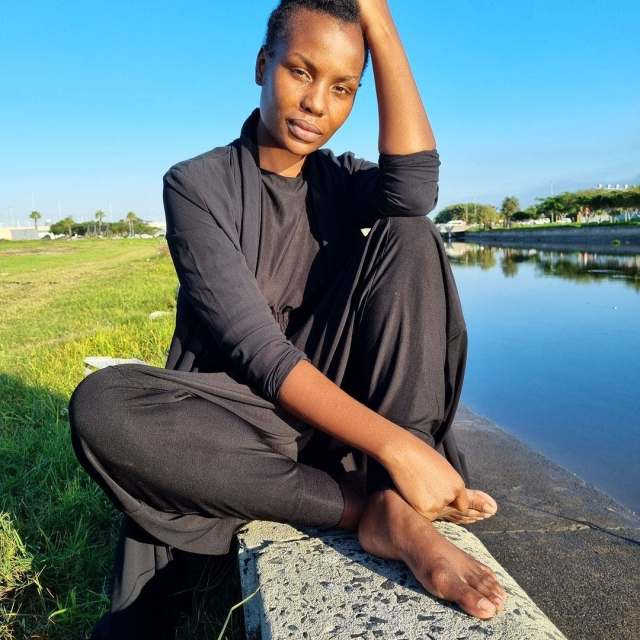 Actress Mona Monyane's touching tribute to her late Daughter who died 7 days after she was born