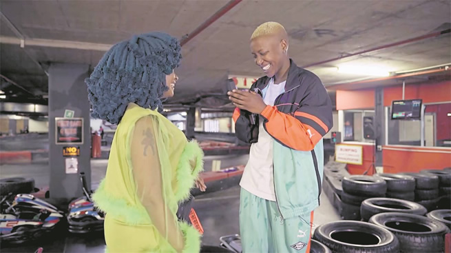 Halala! Gqom hitmaker Moonchild Sanelly proposes to her long time girlfriend