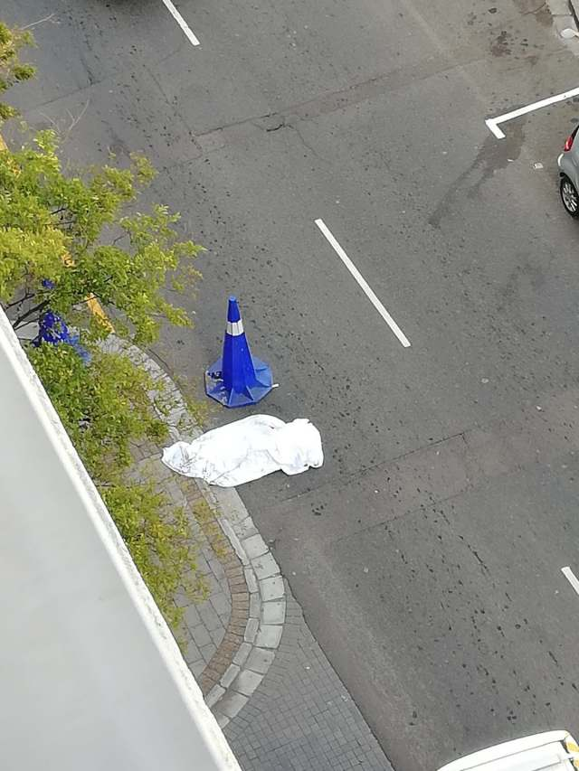 I got to the balcony and looked down, she was on the street – AKA on the day Nelli died