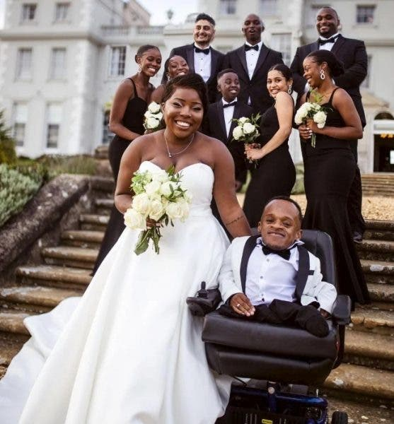 Newly weds share their love story