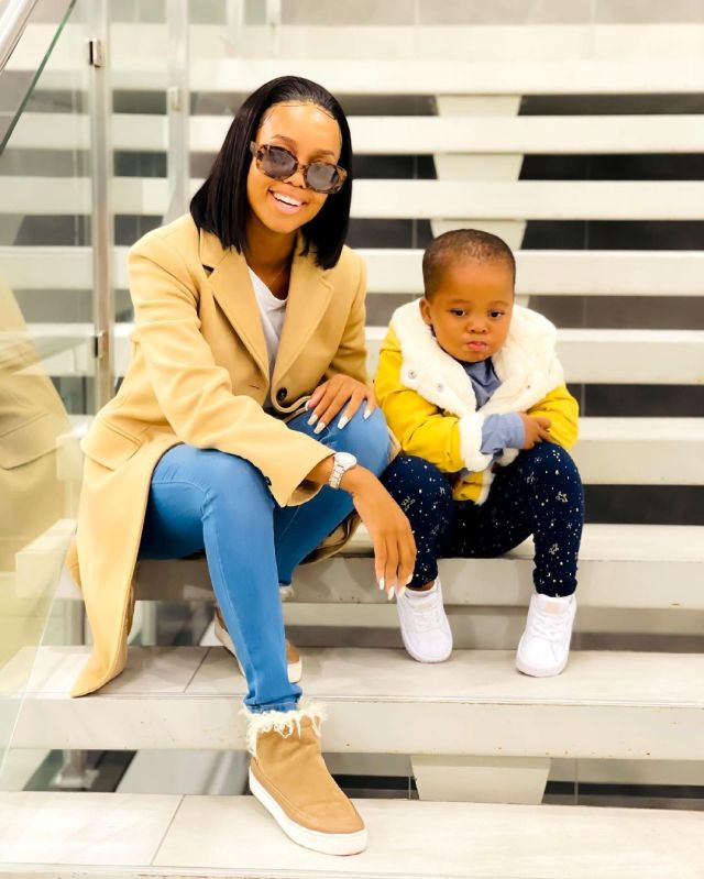 Ntando Duma's daughter, Sbahle furious after her mother gets her hair cut