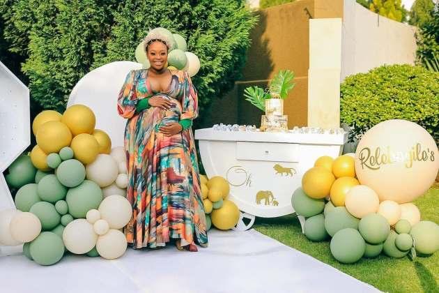 Photos: Inside Relebogile Mabotja's beautiful Baby Shower