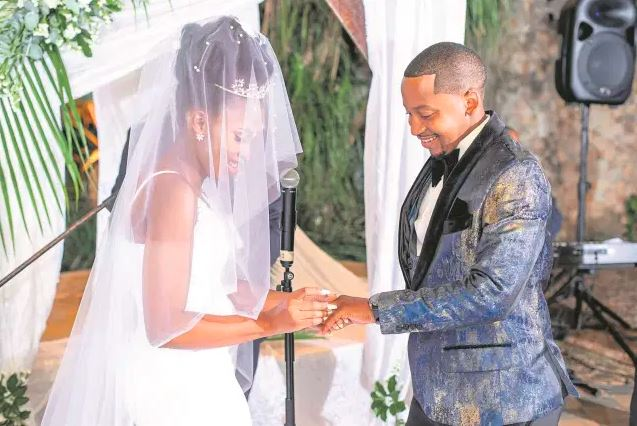 Eswatini Music Star Sands Marries His Long Time Girlfriend, Nomawethu In A Beautiful Wedding (Photos)