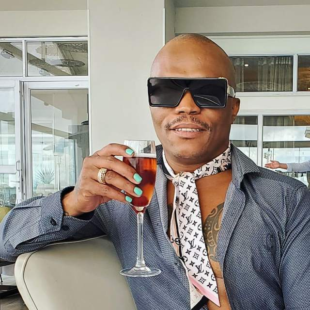 Somizi shows off beautiful gifts he received from a fan