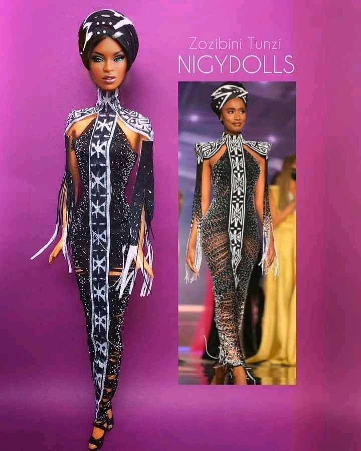 Popular Sri Lankan artist angers Mzansi with her Zozibini Tunzi doll