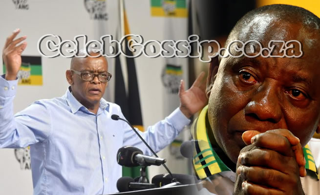 """Ace Magashule shows President Ramaphosa middle finger: """"I'll never apologise to you"""""""