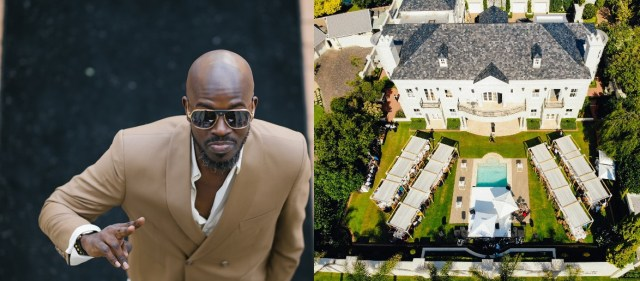 PICTURES: Inside Black Coffee's Luxury Home
