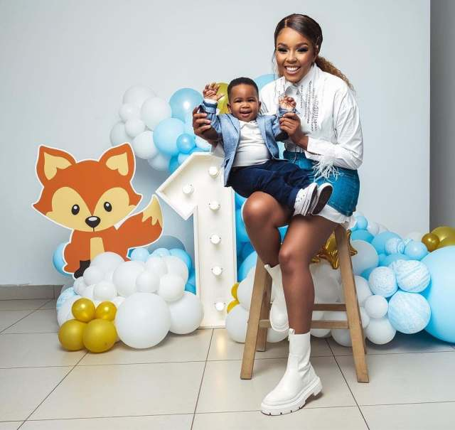 Songbird Cici celebrates son's first birthday – Pictures