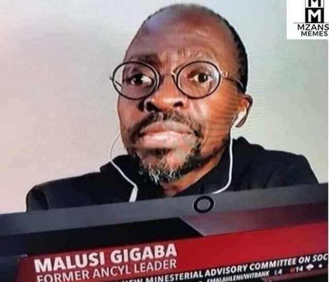 Is Former Minister Malusi Gigaba Ok? – Photos