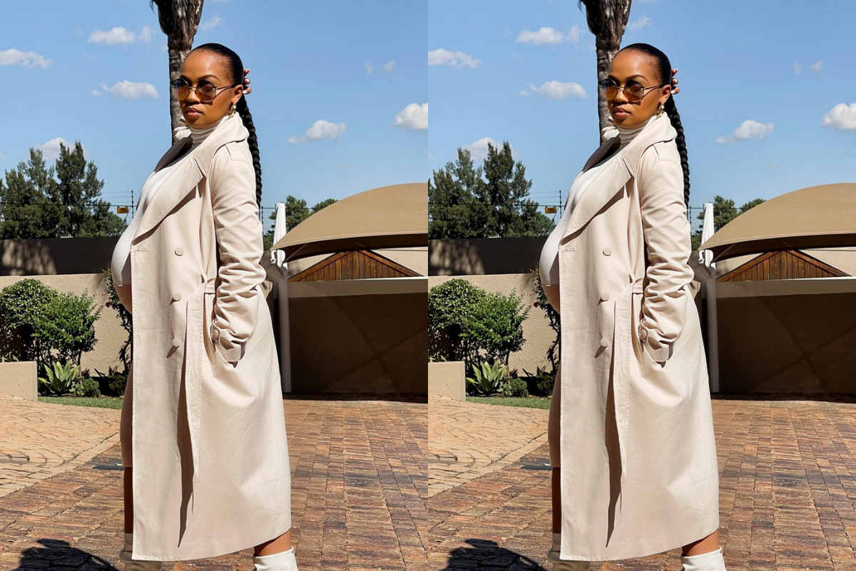 Mzansi Reacts As Siya Bunny Drops Latest Baby Bump Photos