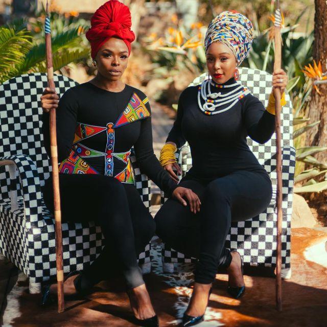 Mzansi A-listers celebrate Ancestors Day – Photos