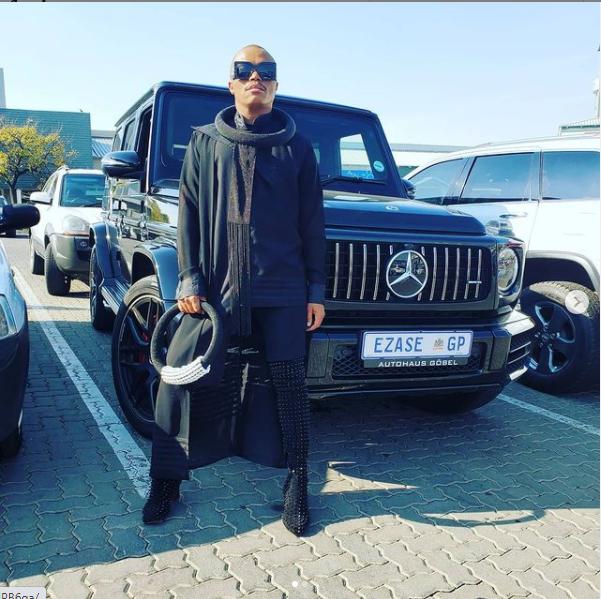 Media personality Somizi Mhlongo Honours His Father, The Late Mshefane