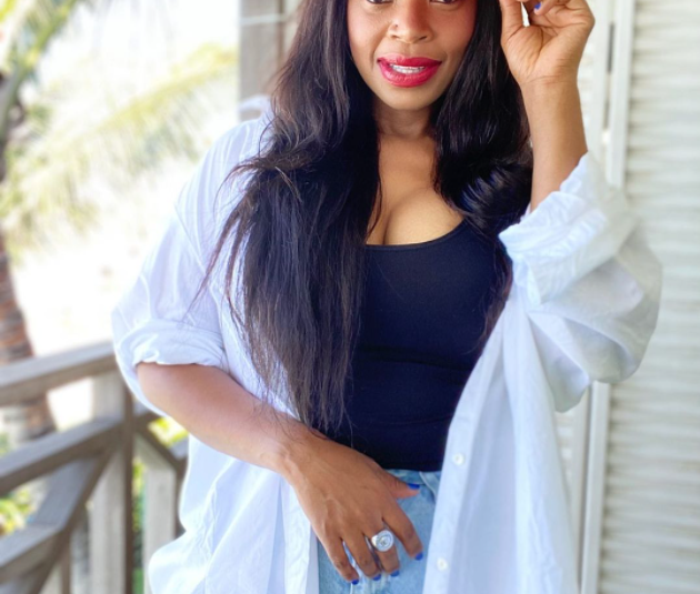 WATCH: ZOLEKA MANDELA SHOWS OFF NEW TATTOO ON HER TUMMY