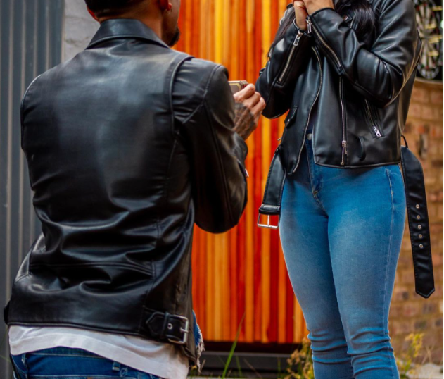 PICS: ORLANDO PIRATES STAR POPS THE QUESTION TO HIS LONGTIME PARTNER