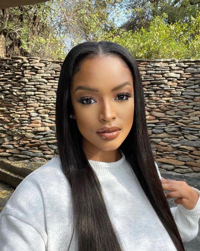 Model Actress Ayanda Thabethe goes back to school