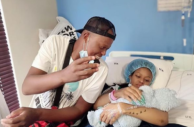 Halala! Babes Wodumo and Mampintsha welcome their first baby (SEE PICS)