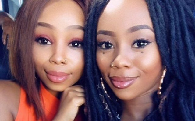 Bontle Modiselle and sister Candice serve sibling goals