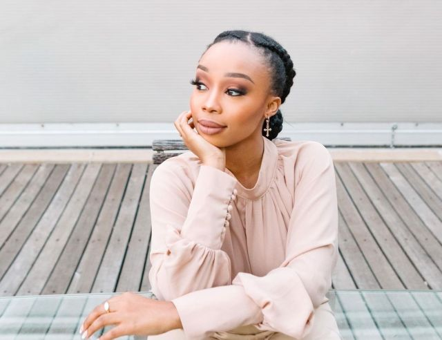 Actress Candice Modiselle In Hospital
