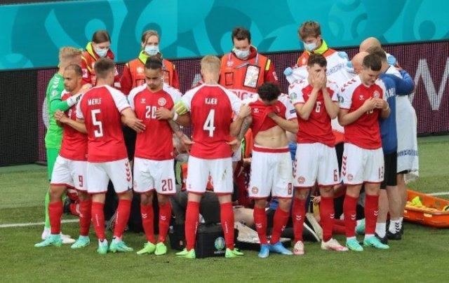 Denmark vs Finland match suspended after Christian Eriksen collapsed