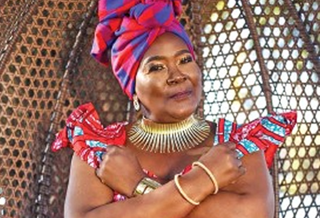 Legendary actress Connie Chiume (Mam'sonto) celebrates 69th birthday in style