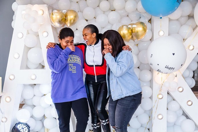 Actress Connie Ferguson pens a sweet message to daughter, Alicia as she turns 19