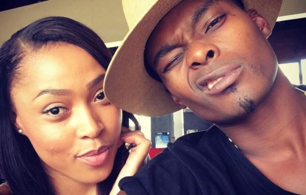 Actress Simz Ngema hits back at claims she is over Dumi Masilela