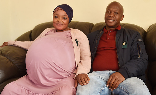 We saw her pregnant, She used clutches to walk – Locals who know Goisame Sithole speak out